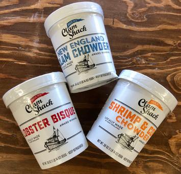 Blount Clam Shack Soups