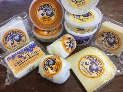 Narragansett Creamery Cheeses