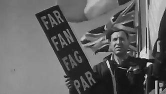 1950 - British GP - sign Far - Fan - Fag