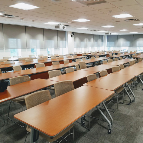 One of two classrooms at the NCDOI.