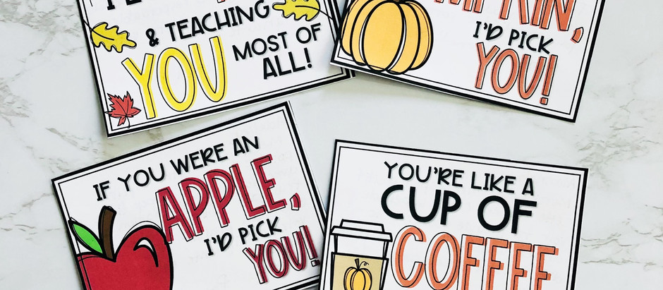 FUN AND FABULOUS FALL RESOURCES 🍁
