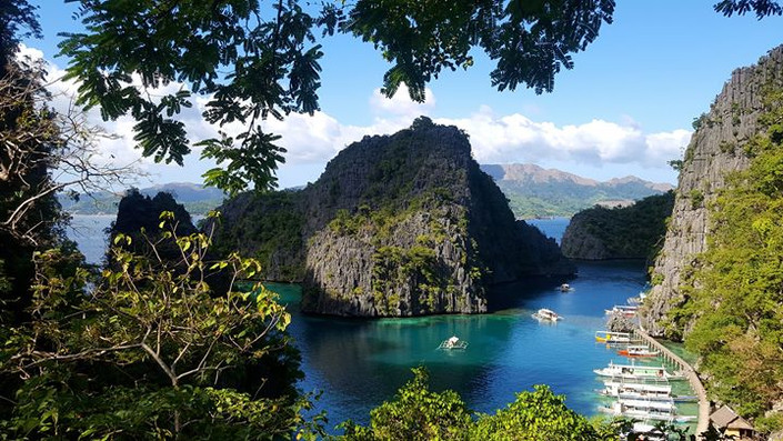 Kayangan Lake, Coron Island, Palawan