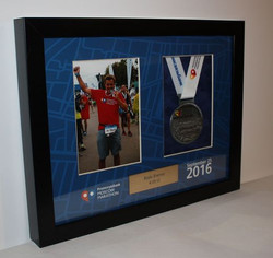 марафон медали в рамке