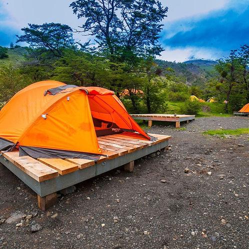 CIRCUITO W Camping - 4 DIAS - TORRES DEL PAINE Autoguiado - CAMPING