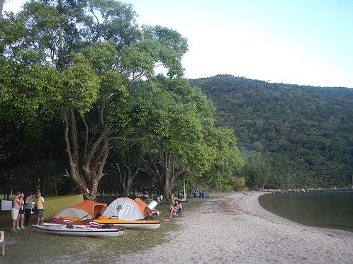 Experiência KAIAK CAMPING Lagoa da Conceição FLORIANÓPOLIS (SC) 2 Dias