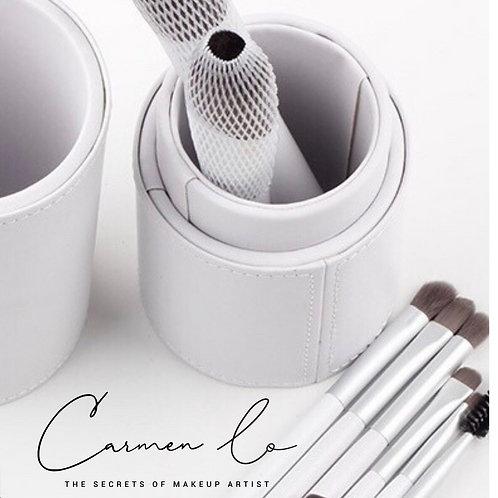 BAMBOO CHARCOAL FIBER BRUSHES (12 brushes/set)