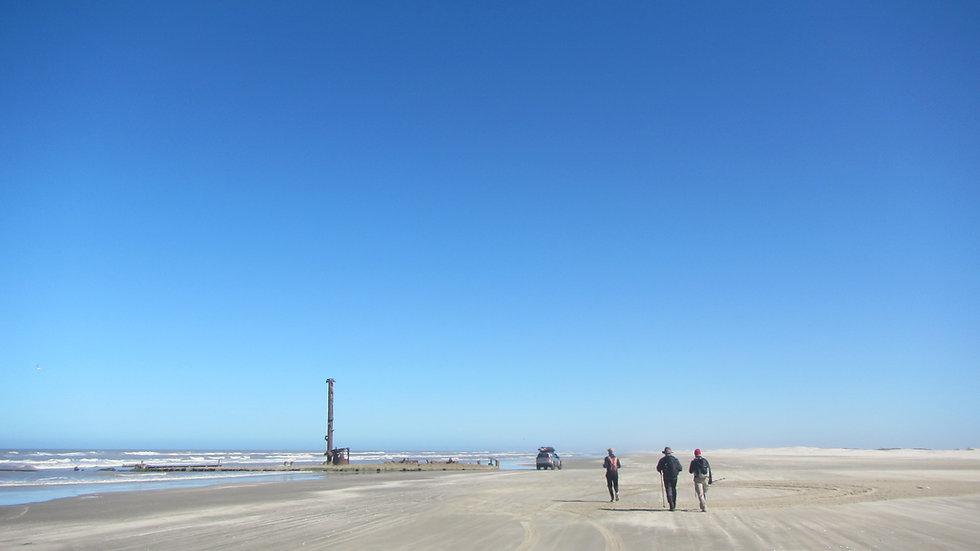 TRAVESSIA da Maior Praia do Mundo - Cassino ao Chuí - 230km - 06 a 15/12/20