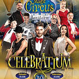 Pascal Visual Comedy at the new show of the Magic Benidorm Circus Celebratium