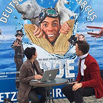 Pascal Visual Comedy press Stuttgart for the German National circus Carl Busch