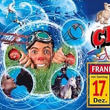 Pascal Visual Comedy at the Great Christmas circus Frankfurt