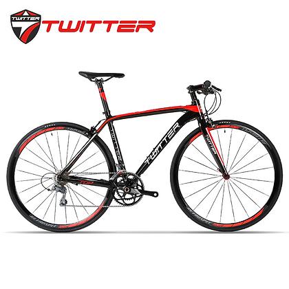 TWITTER TW736 16-Speed Flat Bar Road Bike