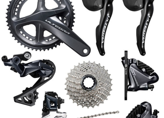 Shimano Ultegra R8020 Hydraulic Disc Groupset