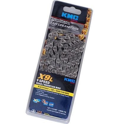KMC X9L 9-Speed Chain