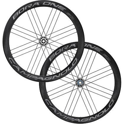Campagnolo Bora One 50 DB Disc Tubular Road Wheelset (Black)