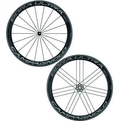 Campagnolo Bora Ultra 50 AC3 Clincher Carbon Wheelset (Black)