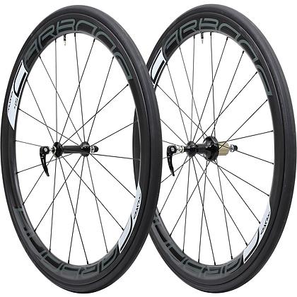 Tufo Caebona 45 Tubular Carbon Road Wheelset