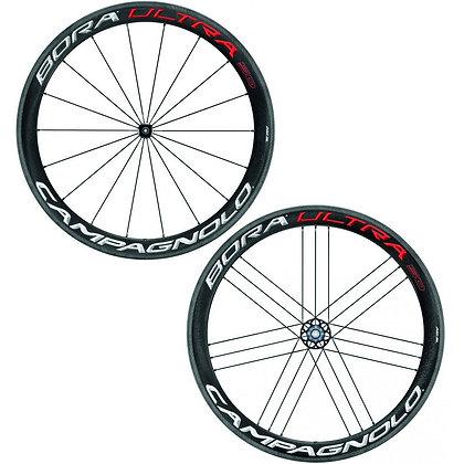 Campagnolo Bora Ultra 50 AC3 Tubular Carbon Wheelset