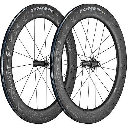 Token Konax Tri Clincher Tubeless Wheelset 2019