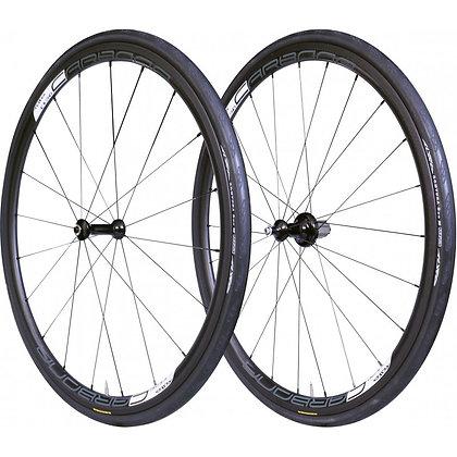 Tufo Caebona 30 Tubular Carbon Road Wheelset