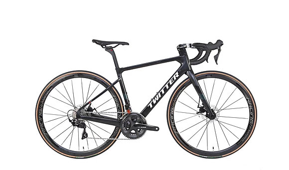 TWITTER  Stealth Pro 22-Speed Carbon Disc Road Bike