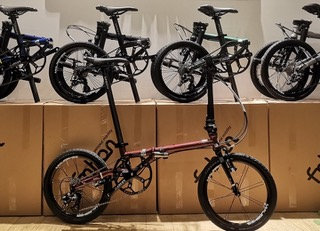 Fnhon FGC1611 9-speed Folding Bike