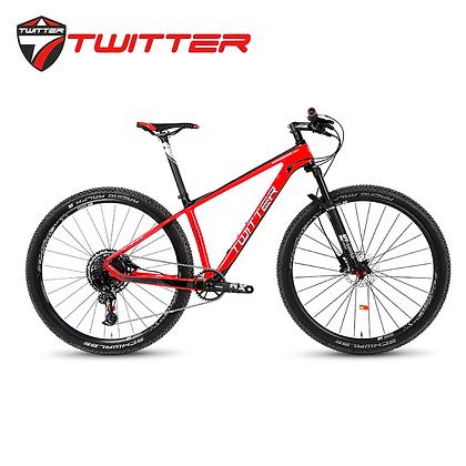 "TWITTER WARRIOR Pro 27.5""/29"" 12-Speed Carbon Mountain Bike"