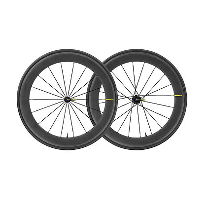 Mavic Comete Pro Carbon SL UST Clincher Tubeless Wheelset