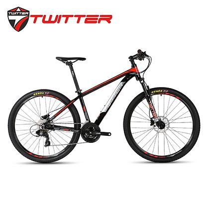 """TWITTER TW3700 26""""/27.5"""" 24-Speed Mountain Bike"""