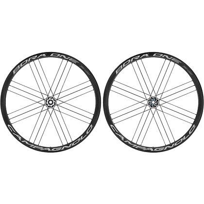 Campagnolo Bora One 35 DB Disc Tubular Carbon Road Wheelset (Black)