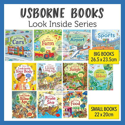 Usborne Look Inside Series