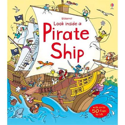 Usborne: Look Inside a Pirate Ship