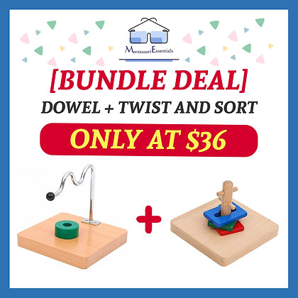 🌈 🌟 Infant Montessori Bundle Deal 🌟 🌈