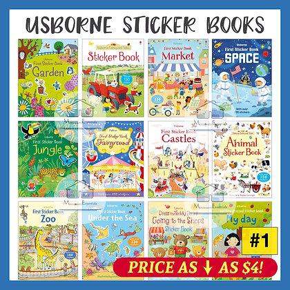 Usborne Sticker Books