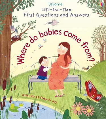 Usborne First QnA - Where do babies come from?