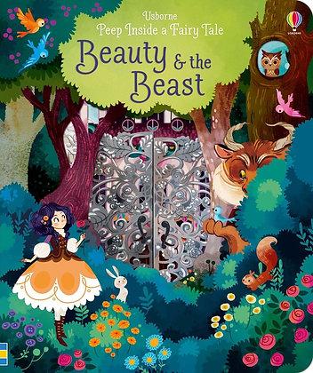 Usborne Peep Inside A Fairy Tale Book - Beauty and the Beast