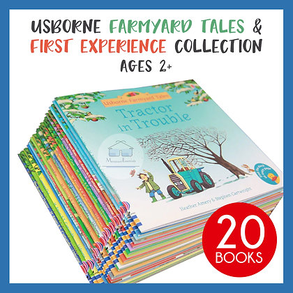 Usborne Farmyard Tales and First Experience Collection Books