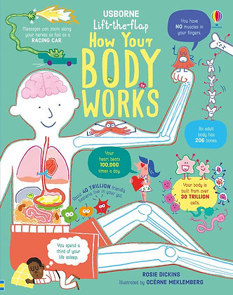 Usborne Lift the Flap: How Your Body Works