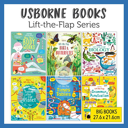 Usborne Lift-the-Flap Series