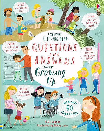 Usborne First QnA - About Growing Up