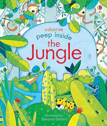 Usborne Peep Inside The Jungle