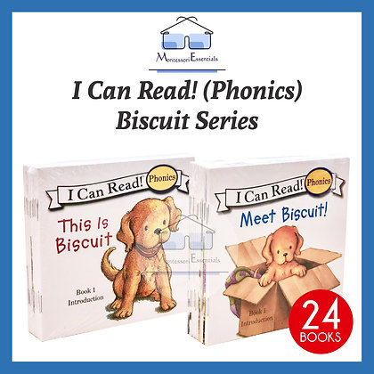I Can Read! Phonics Book - Biscuit the Dog Series
