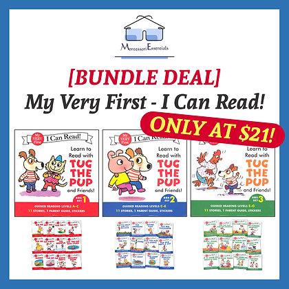 [Bundle Deal] My Very First - I Can Read Books