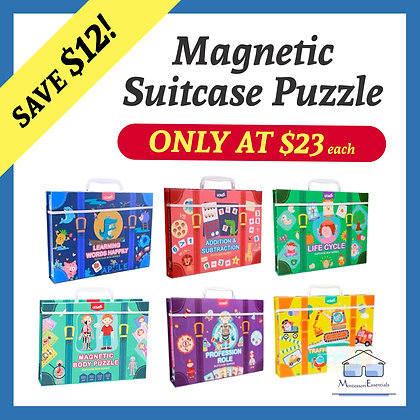 Magnetic Suitcase Series