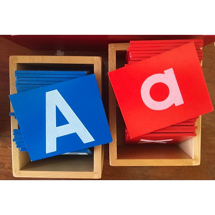 Montessori Sandpaper Alphabets