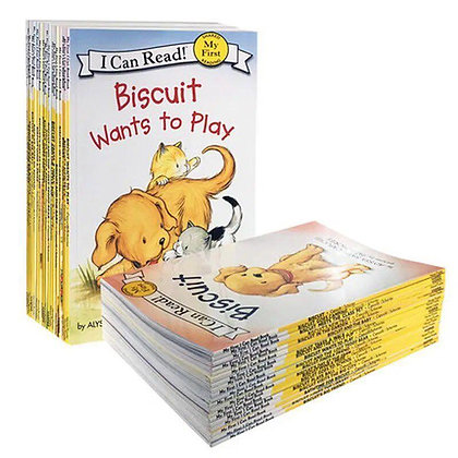 My First I Can Read  - Biscuit Book Bundle (23 Books)