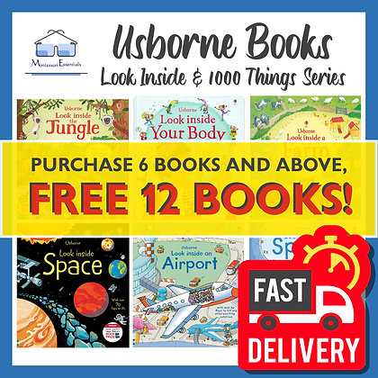 Usborne Look Inside Series