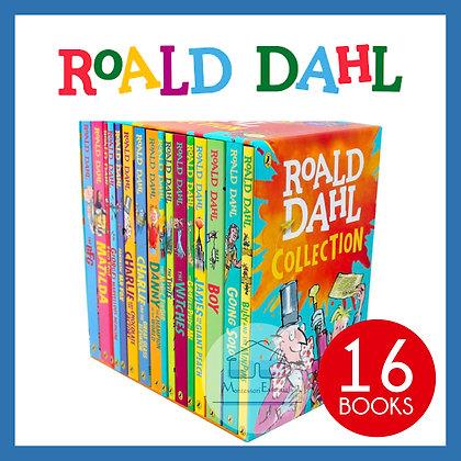 Roald Dahl 16 Books Collection Box Set