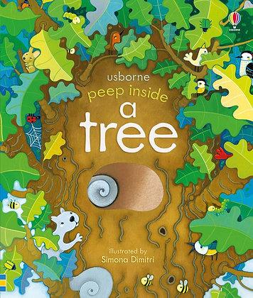 Usborne Peep Inside A Tree Book