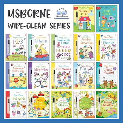 Usborne Wipe-Clean Series