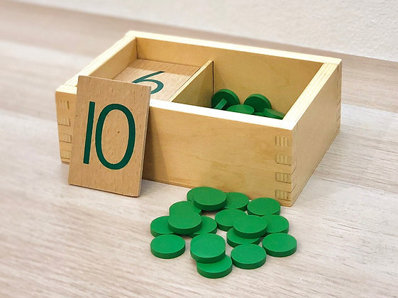 Montessori Number Cards and Counters